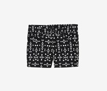 Crazy 8 Girl Arrow Print Shorts, Black