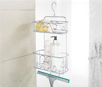 Shower Rack, Silver