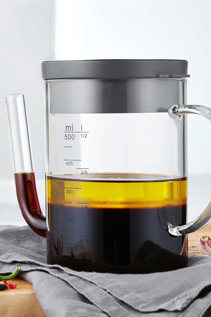 Fat Reducing Jug, Transparent