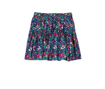 Crazy 8 Girl's Floral Skirt, Navy