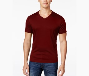 Alfani Men's Soft Touch Stretch T-Shirt, Port