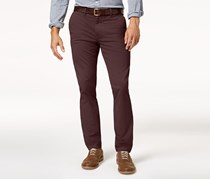 Tommy Hilfiger Slim-Fit Chino Pants, Decadent Chocolate