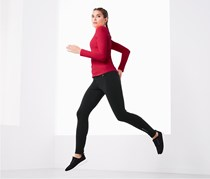 Women's Thermo Running Tights, Black