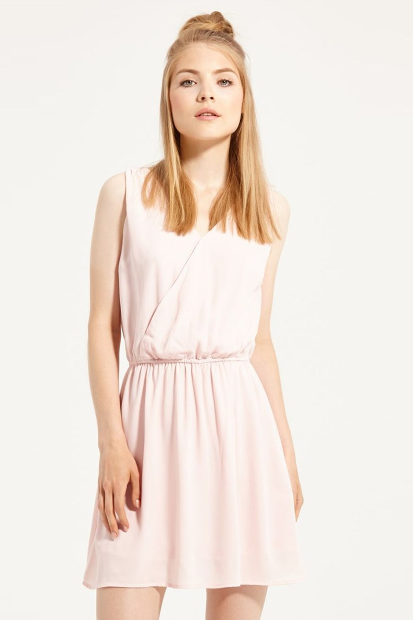 Womens Chiffon Dress, Pink