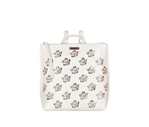 Womens Rosey Backpacks, White/Rosegold