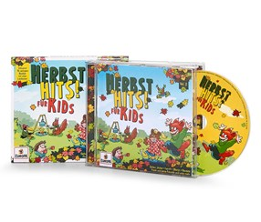 CD Autumn Hits! For Kids, Green/Yellow