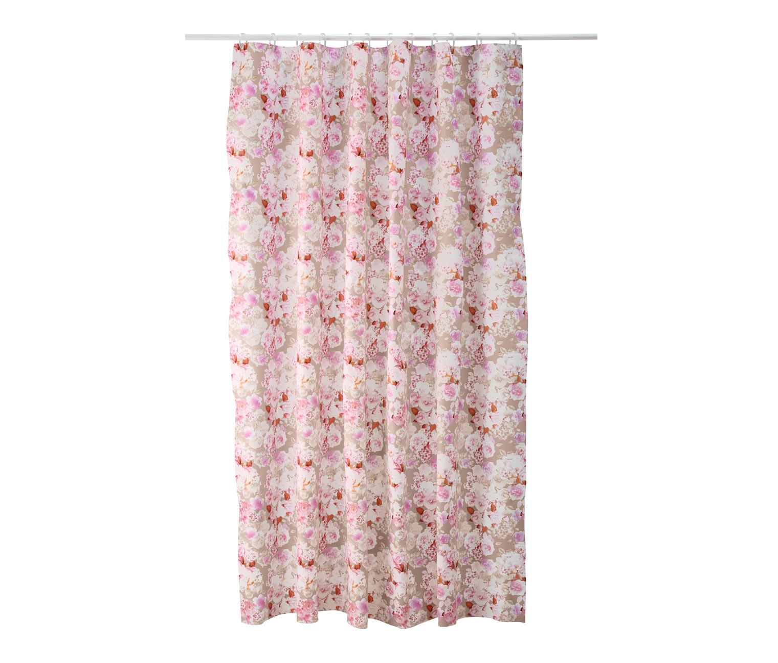 Shower Curtain, 200 x 180 cm, Roses
