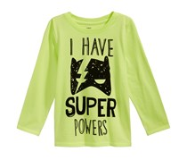 Epic Threads Toddler's  Graphic-Print T-Shirt, Sharp Green