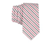 Lord & Taylor Boy's Stripe Zipper Tie, Red