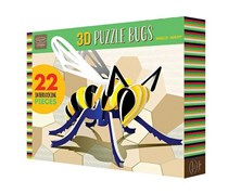 Bendon Kathy Ireland Wally Wasp 3D Puzzle, Green