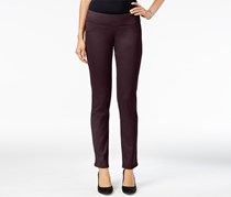 Style & Co Petite Curvy Skinny Pants, Dried Plum