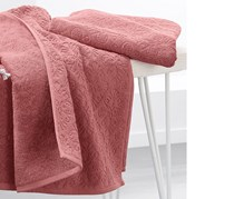 Hand Towels, Set of 2, Pink