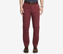 Polo Ralph Lauren Mens Classic-Fit Chino Pants, Mulberry