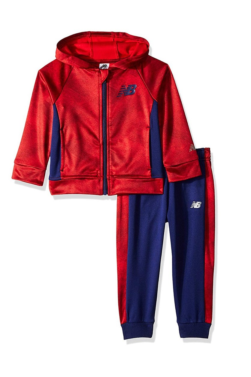 Athletic Jacket and Pant Set, Team Red/Basin