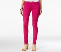 Celebrity Pink Juniors' Jayden Colored Skinny Jeans, Festive Fuchsia
