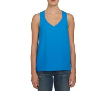 1. State Sleeveless V-neck Racerback Top, Electric Sky Blue