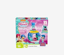 Mega Bloks Shimmer and Shine Genie Palace Bottle Shine Sweet Treats Building Set, Blue