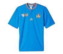 Men Italy National Rugby World Cup Player Jerseys, Blue