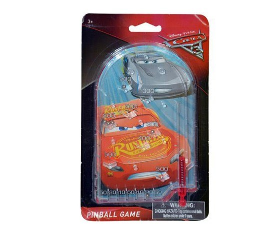 Cars 3 Licensed Pinball on Blister Card, Red