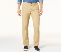 Mens Shield-Print Chino Pants, Arizona Khaki