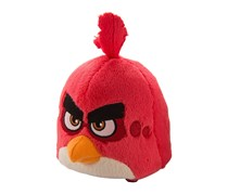 Angry Birds Plush Bluetooth Speaker, Red