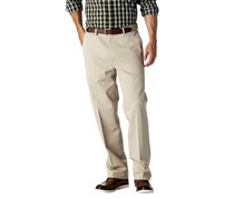 Haggar Work to Weekend Straight-Fit Flat-Front Pants, Khaki