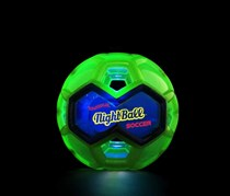 Tangle Creations NightBall Light Up Soccer Ball, Green/Blue