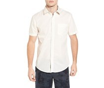 Original Paperbacks Torino' Short Sleeve Woven Shirt, Ivory