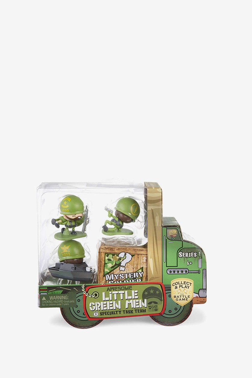4 Starter Pack Series 1 Specialty Task Team Figures, Green