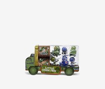 Little Green Men 8 Battle Pack Series 1 Style 2 Figures, Green/Blue