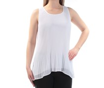 Alfani Women's Sleeveless Top, White