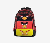 Angry Birds Graphic Backpack, Black/Red/Yellow