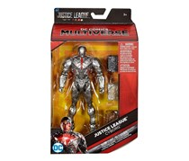 DC Comics Multiverse Justice League Movie Cyborg Exclusive Action Figure, Silver