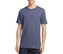 Velvet by Graham & Spencer Mojo Double S Stripe Tee, Blue