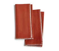 Bardwil Avery 2-Pc. Cotton Napkin Set, Cinnabar