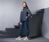 Women's Quilted Jacket, Navy