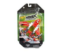 Havex Machines Sonic Jet SJ-2200 Vehicle, Red