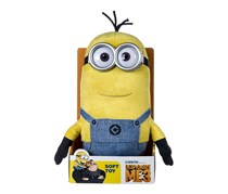 Despicable Me 3 Medium Minion Tim Soft Toy with Sound, Yellow