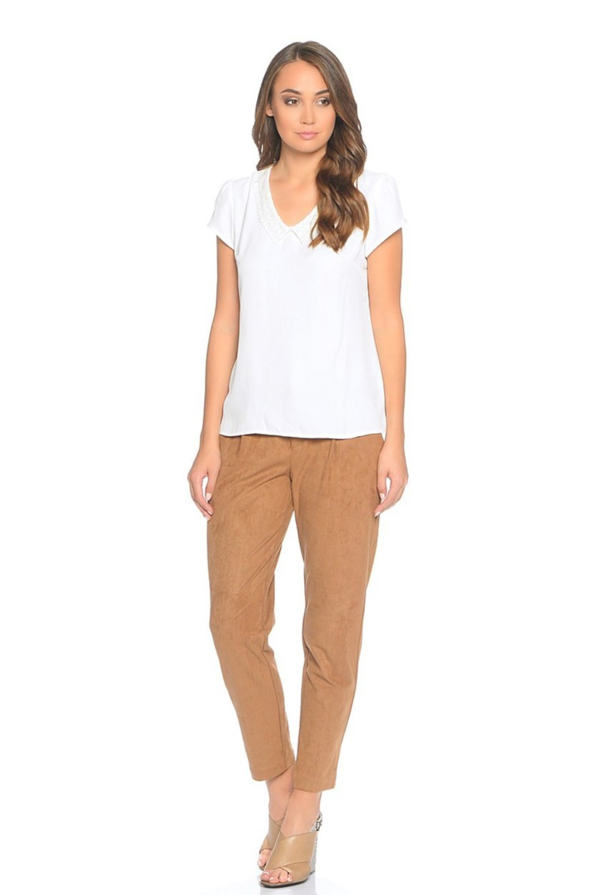 Womens Casual Pants, Brown