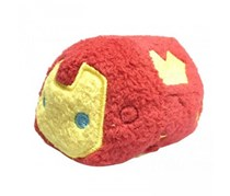 Marvel Tsum Tsum Iron Man Mini Plush, Red