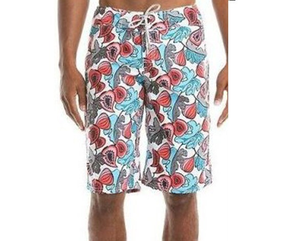 Men's Printed Boardshort, Ocean Combo