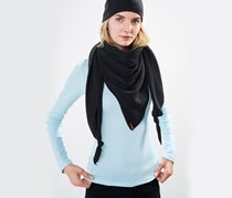 Women's Micro fleece Scarf, Black
