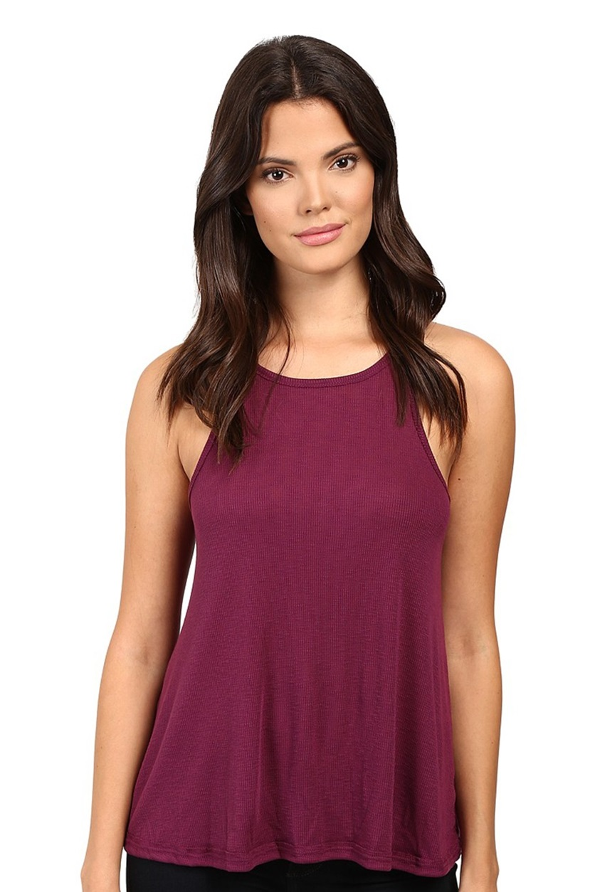 e56973db33 Shop Free People Free People Long Beach Ribbed Tank Top