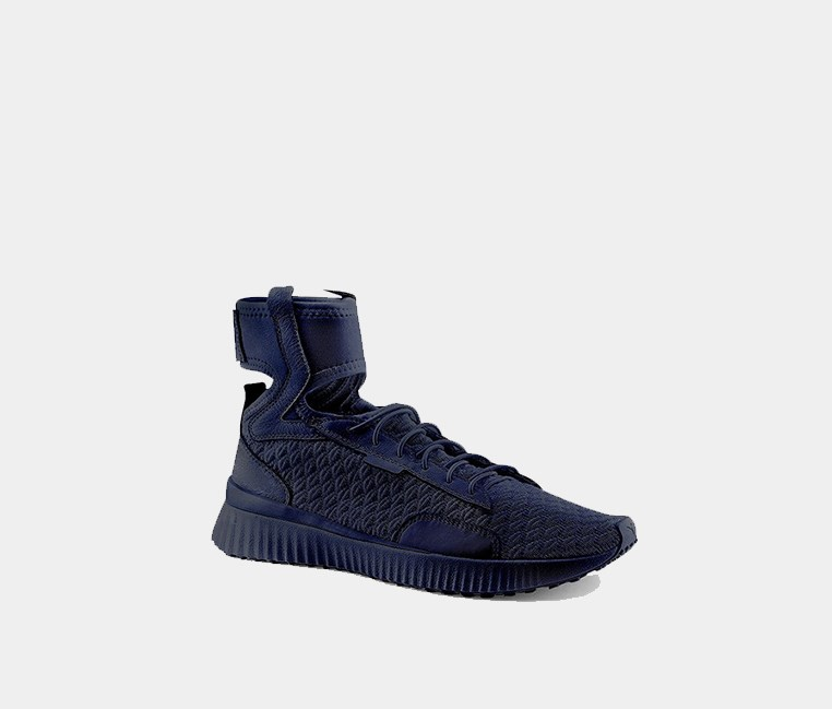 Women Fenty X Puma Mid Geo Sneakers, Blue/Black