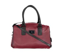 Geox Respira Women's Handbag, Red/Black