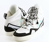 Marc By Marc Jacobs Sneakers Comfort. Off White/Silver/Black