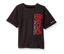 Ecko Unltd Little Boys' Short Sleeve Crew Neck T-Shirt, Charcoal