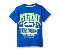 Ecko Unltd Boys' Short Sleeve Printed Crew Neck T-Shirt, Royal