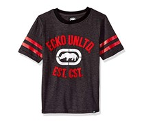 Ecko Unltd Little Boys' Classic Short Sleeve T-Shirt, Dark Heather Grey