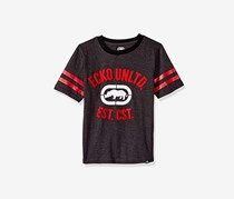 Ecko Unltd Boys' Classic Short Sleeve T-Shirt, Dark Heather Grey